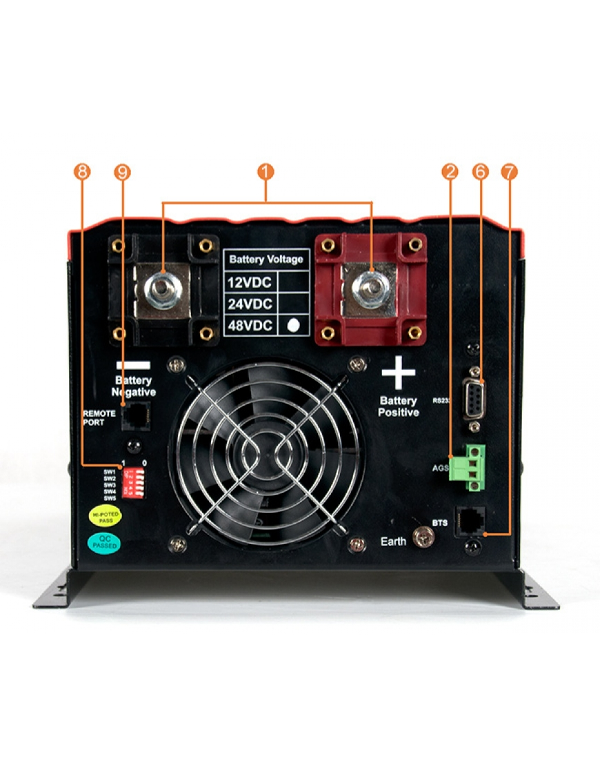 Must Ir Series Pure Sine Wave Inverter Charger 5kva 48v Circuit Electronic Projects Ep30 Pro